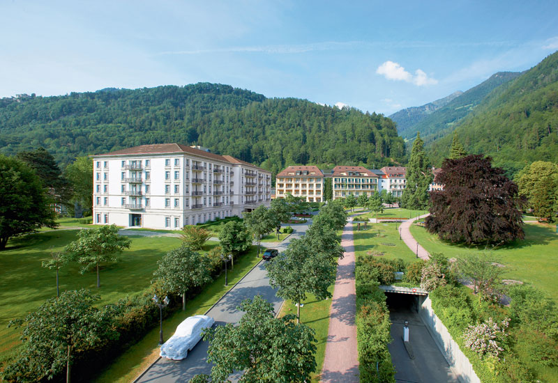 Grand Resort Bad Ragaz Exterior