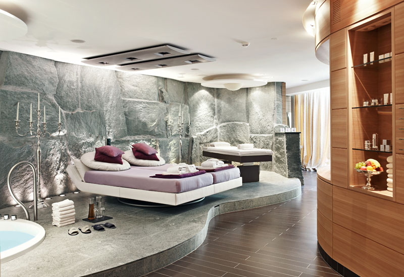 Thermal Spa Private Spa Massage, Treatment room,