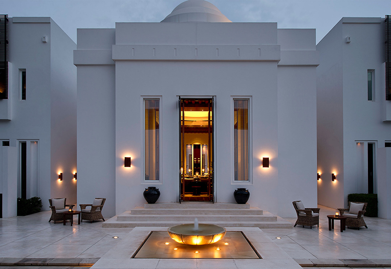 The Chedi Mascate Oman Luxury Hotel Spa Finest Spa