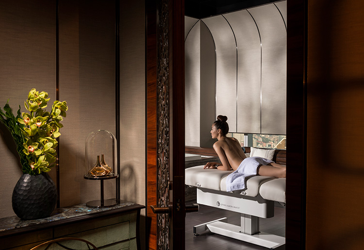 the ultimate in french spa luxury at four seasons hotel shanghai at pudong the magazine. Black Bedroom Furniture Sets. Home Design Ideas