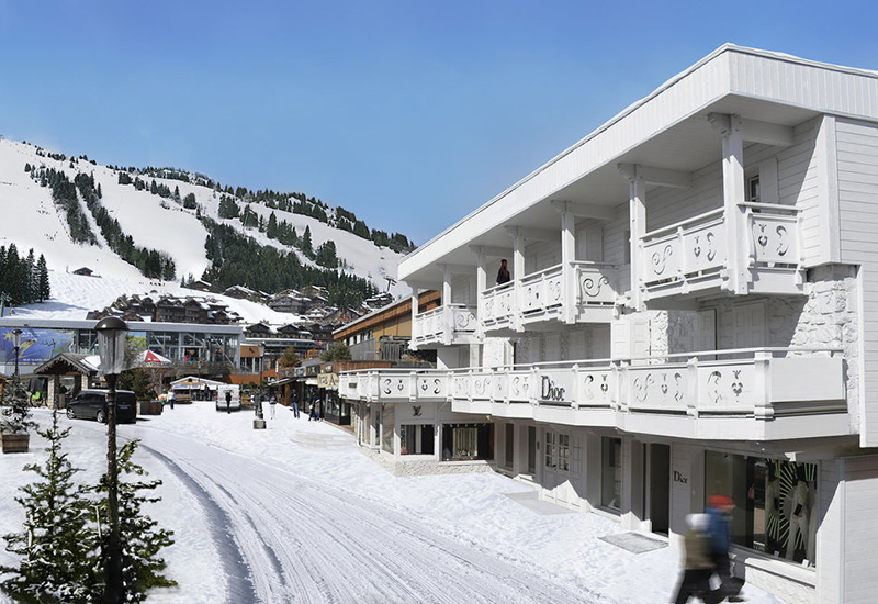 Hotel Spa lvmh hotel management courchevel
