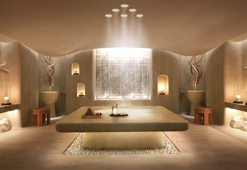 Six Senses Spa at the Alpina Gstaad Treatment room