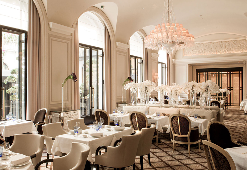 Restaurant le Georges Paris Four Season Hotel Georges V