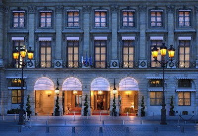 Le Ritz Paris front entrance