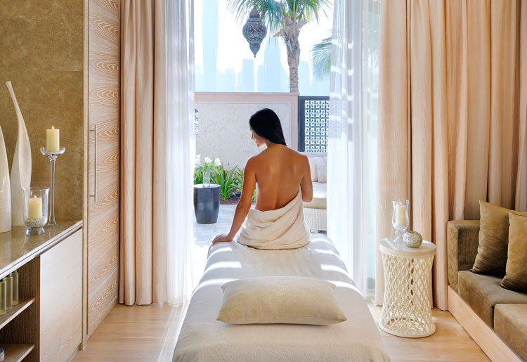 One & Only The Palm Dubai Spa Pool