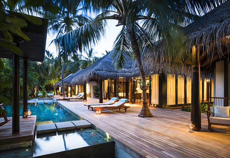 Anantara Kihavah Villas Maldives - Tree Bedroom Beach Pool Residence