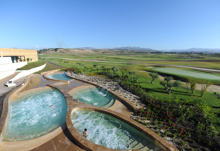 Verdura Resort Sicily Spa Thalassotherapy Pools