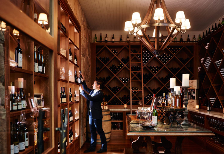 Emirates One&Only Wolgan Valley Wine Cellar