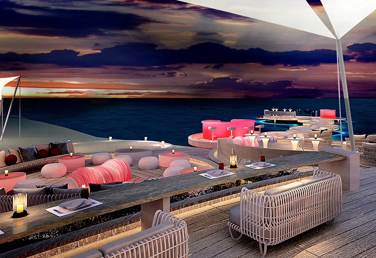Lux* South Ari Atoll Maldives Beach Rouge Outdoor