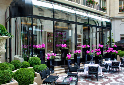 Restaurant l'Orangerie Four Seasons Hotel Georges V Paris