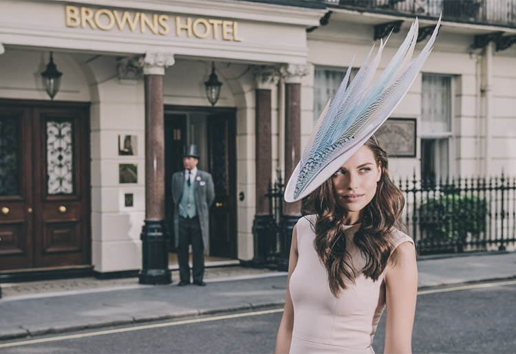 Brown's Hotel London and Vivien Sheriff
