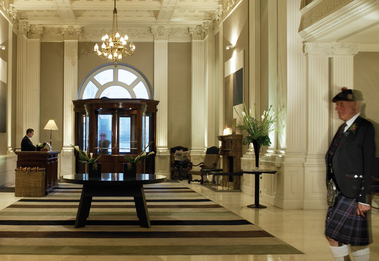 Rocco Forte Hotels The Balmoral Lobby