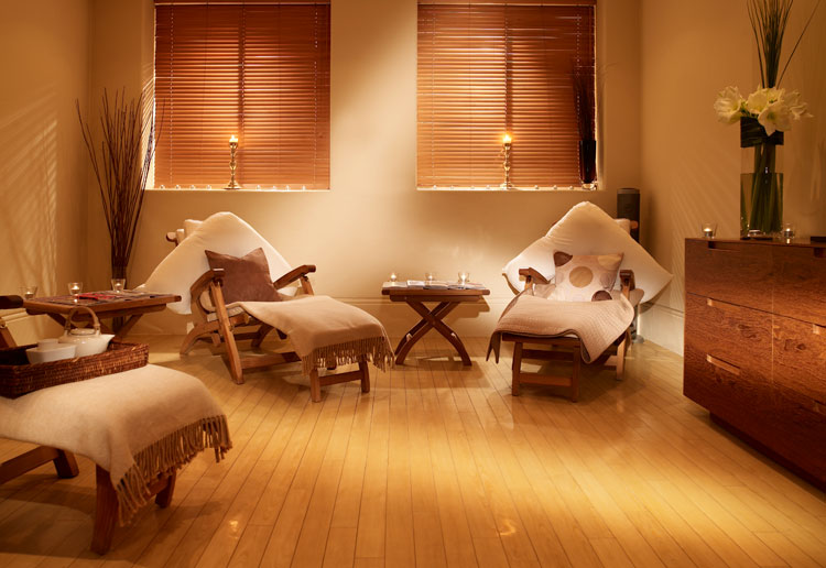 The Balmoral Spa relaxation room