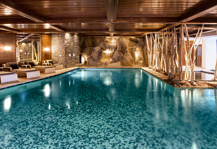 Cheval Blanc Courchevel Indoor Pool