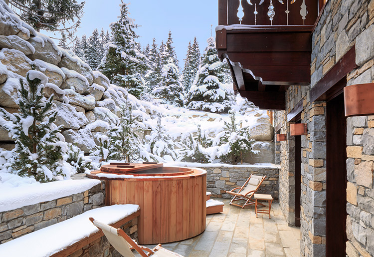 Cheval Blanc Courchevel Chalet