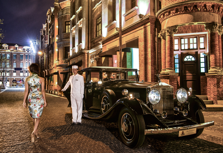 The Peninsula Shanghai Culture and Heritage of China