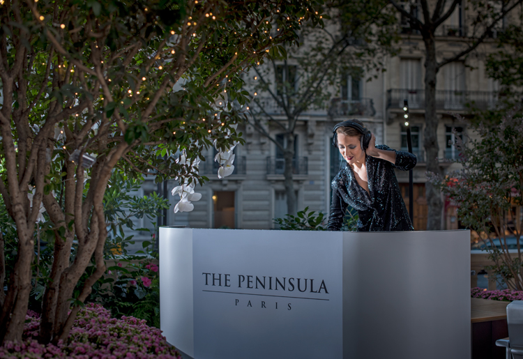 The Peninsula Paris - Terrasse Kleber