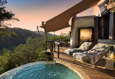 private plunge pool phinda rock lodge suite