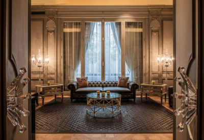 The Cigar Lounge - The Peninsula Paris